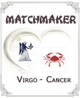 Virgo and Cancer
